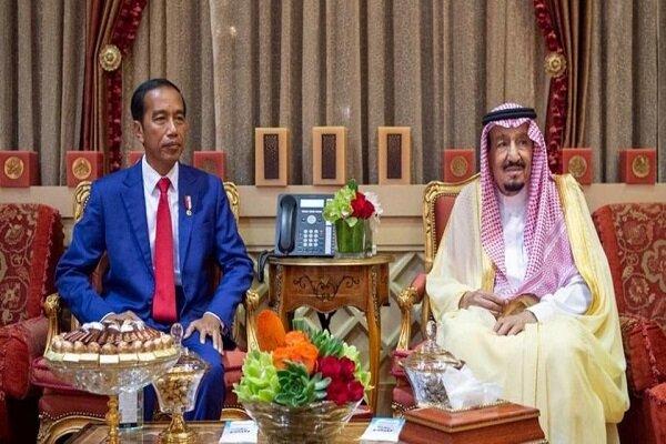 دیدار ملک سلمان با رئیس جمهوری اندونزی