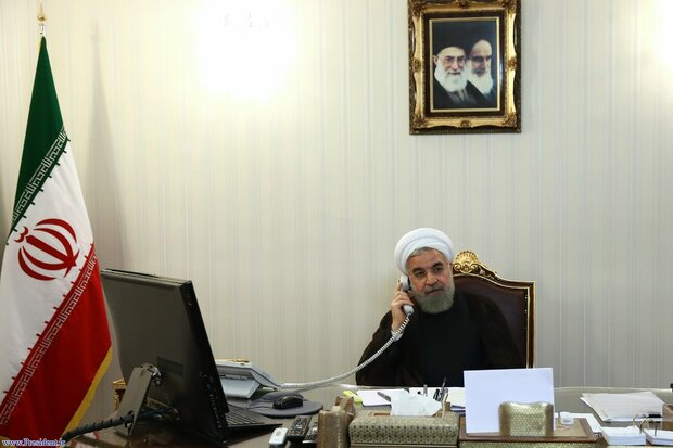 Rouhani instructs 7 governors for full readiness amid new wave of rainfalls