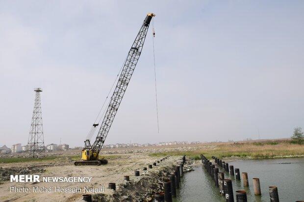 بازدید مدیر کل بنادر و دریانوردی استان گیلان از منطقه ویژه اقتصادی آستارا