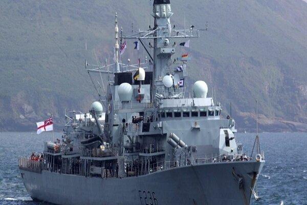 برای یک ماموریت 3 ساله؛ کشتی جنگی انگلیس وارد سواحل بحرین شد