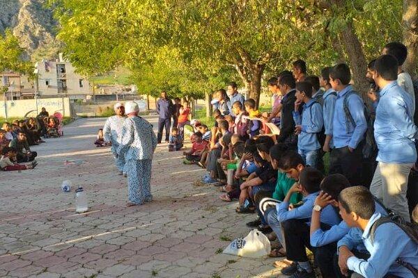 سه نمایش خیابانی در کهگیلویه و بویراحمد اجرا شد