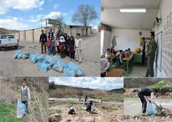 طرح محیط بان مدرسه در روستاهای شهرستان آوج اجرا شد