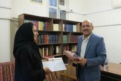 امضای تفاهمنامه مرکزحافظشناسی بااستاد دانشگاه ملی استرالیا