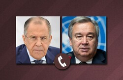 Lavrov, Guterres discuss solving Syrian crisis in a phone call