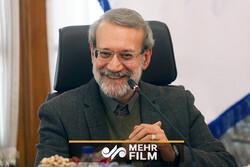 گفتگوی فلسفی لاریجانی با یک نماینده مجلس