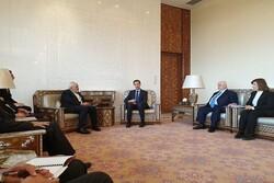Zarif, Şam'da Beşar Esad ile görüştü