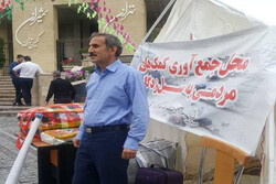 کمک های مردم شمال تهران به سیل زدگان در۲۲ایستگاه جمع آوری می شود