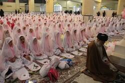 جشن تکلیف ۱۰۰۰ دانش آموز دختر شهرستان انزلی برگزار شد