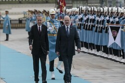 دیدار اردوغان با رئیسجمهوری بلاروس