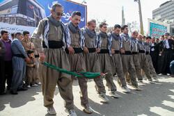 İran'da Kürt Halk Dansları Festivali
