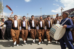Kurdish Dance Festival in Baneh