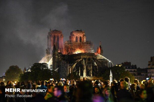 آتش سوزی در کلیسای نوتردام پاریس - 59