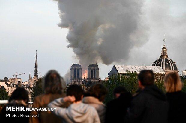 آتش سوزی در کلیسای نوتردام پاریس - 65