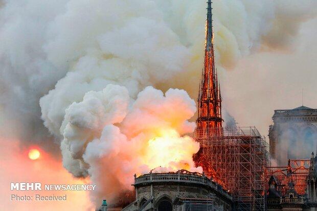 آتش سوزی در کلیسای نوتردام پاریس - 67
