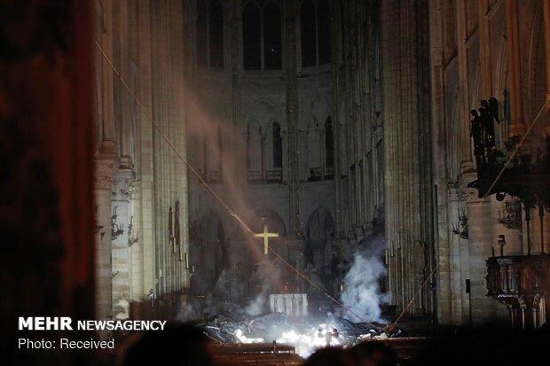 آتش سوزی در کلیسای نوتردام پاریس - 79