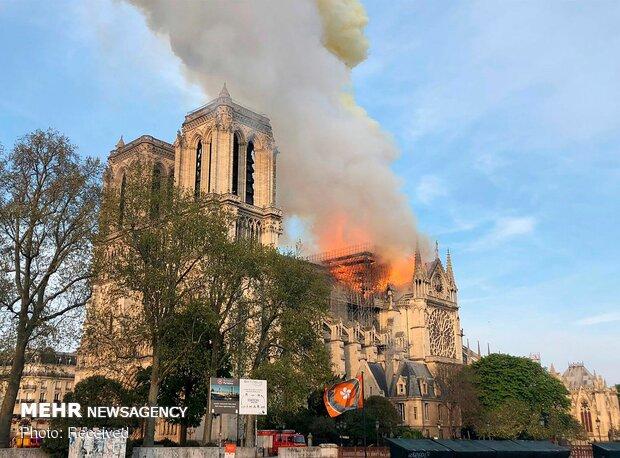 آتش سوزی در کلیسای نوتردام پاریس - 83