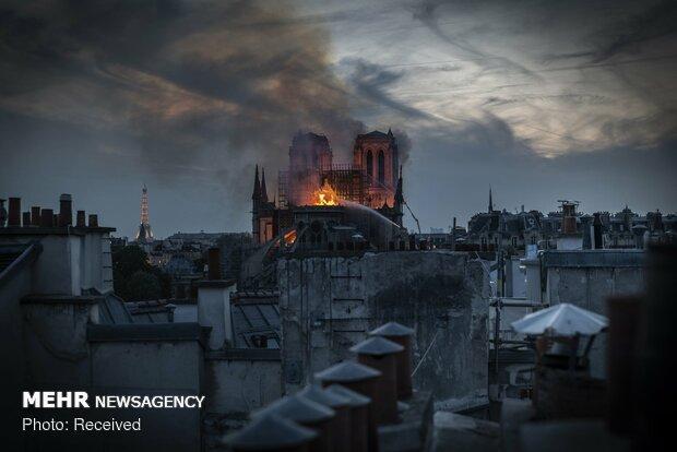 آتش سوزی در کلیسای نوتردام پاریس - 87