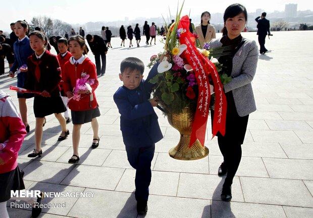 روز خورشید در کره شمالی
