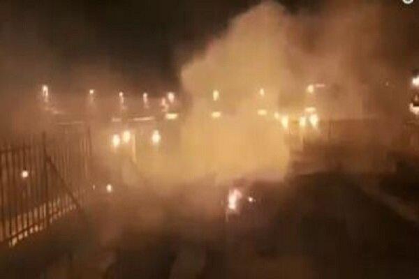 مسجد اقصیٰ کے ایک حصہ میں لگي آک پر قابو پالیا گیا