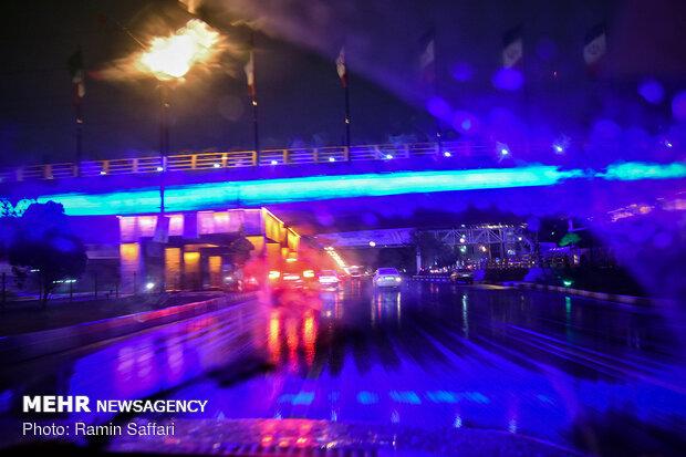 تداوم بارش باران در مشهد