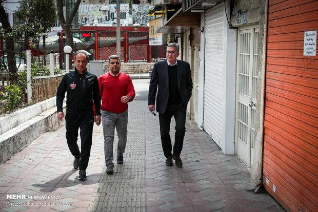 برانکو در باشگاه پرسپولیس حاضر شد/ فعلا خبری از مذاکره نیست!