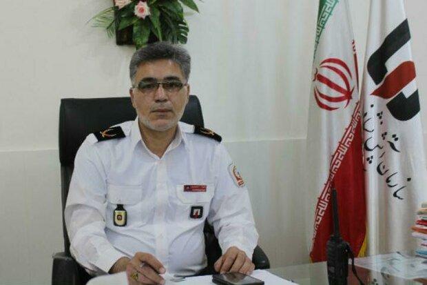 ۸۶ مورد عملیات حادثه و حریق در شهر سمنان امدادرسانی شد