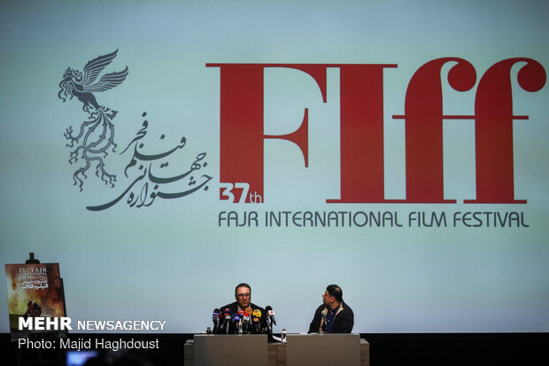 Fajr Intl. Filmfest. news conference held