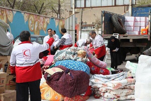 آخرین اقدامات سازمان داوطلبان هلال احمر در مناطق سیل زده