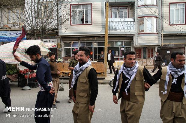 Kurdish Dance Festival in Baneh