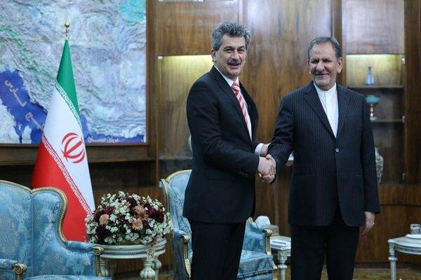 Iran welcomes presence of the Turkish investors: VP Jahangiri