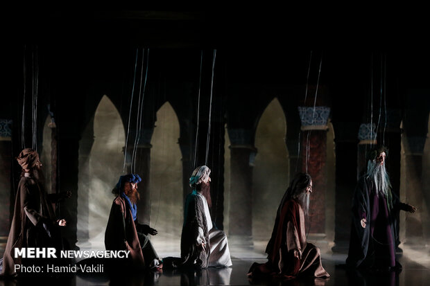 'Love' puppet opera on stage in Tehran