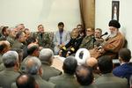 İslam Devrimi Lideri, Ordu komutanlarını kabul etti