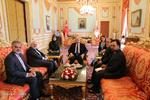 ایرانی وزیر خارجہ کی ترک پارلیمنٹ کے اسپیکر سے ملاقات