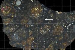کشف بقایای ستاره دنباله دار در دل یک شهاب سنگ