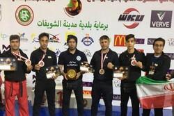 کسب ۴ مدال توسط رزمیکاران اردبیلی در رقابتهای کیک بوکسینگ لبنان