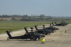 روس کا برطانوی فوجی ہیلی کاپٹروں کی تعیناتی پر شدید اعتراض