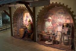 موزه باستان شناسی در مینسک یک شهر را در خود جای داده است