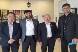 سهرابیان با رئیس کنفدراسیون کانوئینگ آسیا دیدار کرد