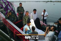 سیلاب سے متاثرہ علاقہ میں شادی کی تقریب