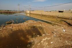 نجات ۷۰ روستای هویز با ساخت چهار کیلومتر خاکریز مستحکم