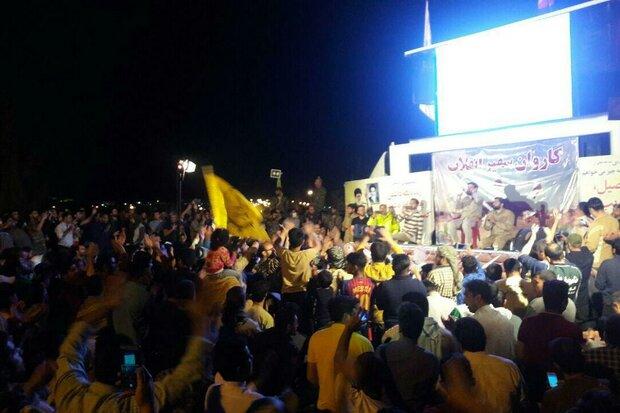 برگزاری جشن میلاد حضرت علی اکبر(ع) در پلدختر/ بازگشت زندگی به شهر