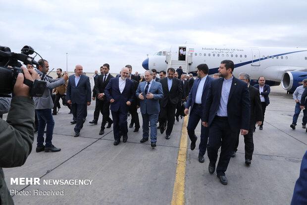 سفر محمد جواد ظریف وزیر امور خارجه به سوریه