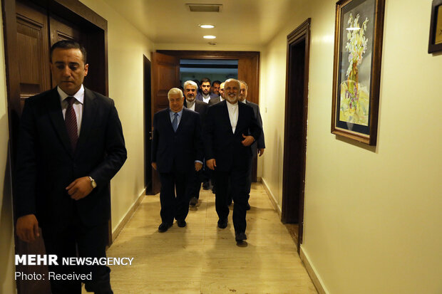 Zarif on Syria, Turkey tour