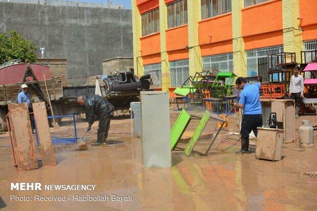 پلدختر ۱۶ روز پس از سیلاب
