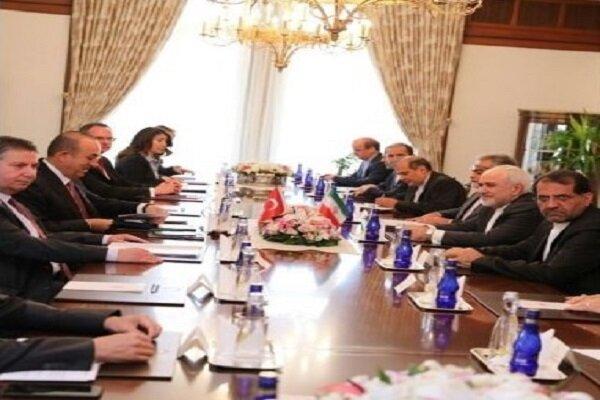 دور دوم مذاکرات وزرای خارجه ایران و ترکیه برگزار شد