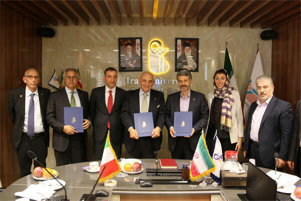Iran Medical Sciences, Italy's Naples Federico Unis. sign MoU