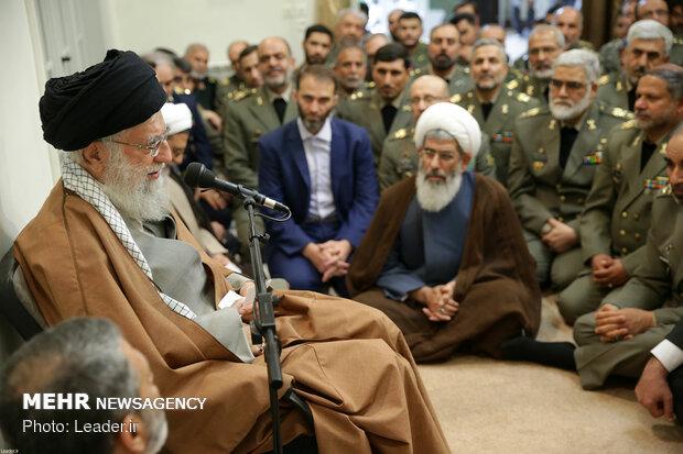 حشد من الجيش الايراني