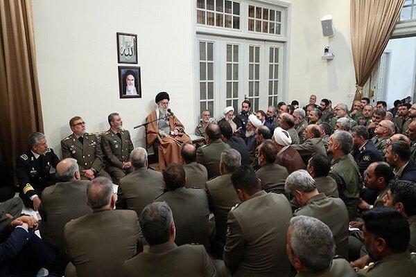 Ordu komutanları, İslam Devrimi Lideri'yle görüştü