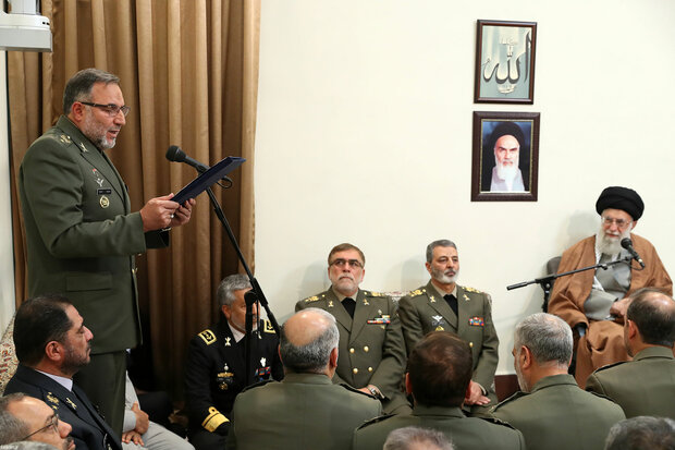 Top commanders meet Leader ahead of Army Day