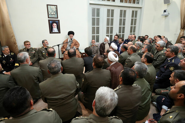 Ayat. Khamenei hails IRGC, Army for pushing back terrorism in region